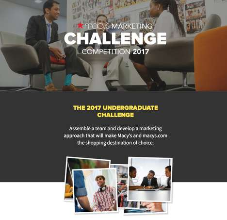 Undergrad Marketing Competitions - The Macy's Marketing Challenge Connects Students with the Brand