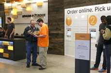 On-Campus eCommerce Solutions - Amazon is Installing Physical Pickup Points on College Campuses