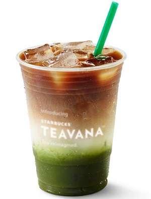 Espresso-Flavored Iced Teas - Starbucks Teavana 'Matcha & Espresso Fusion' is Tasty and Attractive