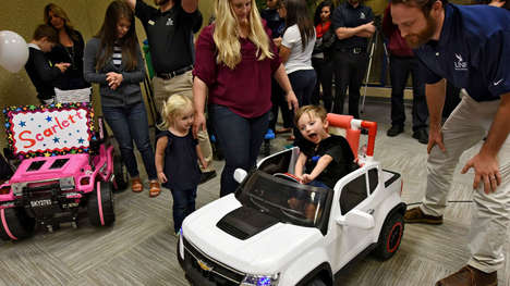 Customizable Adaptive Toys - The UNF Adaptive Toy Project Designs Cars for Disabled Children