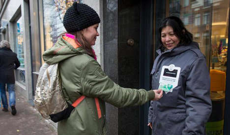 Card-Accepting Homeless Coats - This Jacket for Homeless is a Local Solution for Accepting Donations