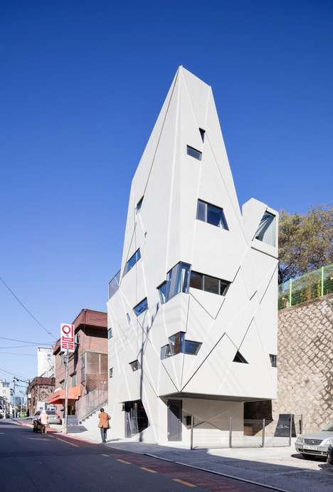 Shamanistic Home Designs - Moon Hoon's 'Dogok Maximum' is in Seoul's Gagnam Neighborhood