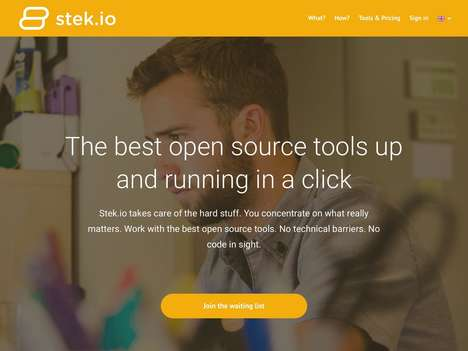 Accessible Open Source Tools - Dutch Startup Stek Provides Web Tools Without Needing Tech Expertise