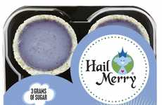 Bite-Sized Purple Tarts