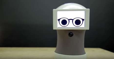 GIF-Centric Robot Helpers - The Peeqo Robot Responds to User Requests with GIFs