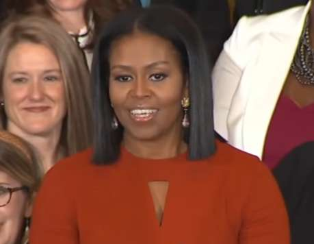 Education-Focused First Lady Speeches - Michelle Obama's Farewell Speech Sends an Empowering Message