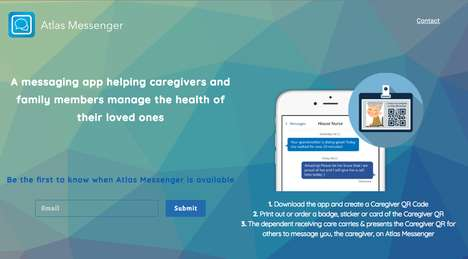 QR Code Caregiver Messaging - Atlas Messenger Makes it Easier for Caregivers to Communicate