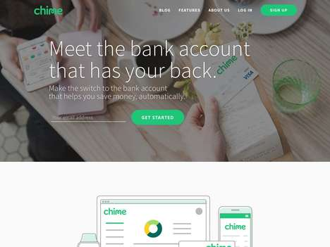 Banking Tech Startups - Chime Offers Mobile-First Bank Accounts That Help You Save Automatically