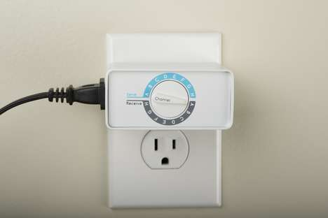 Connected Outlet Adapters - The 'Switcheroo' Sends and Receives Signals from One Another