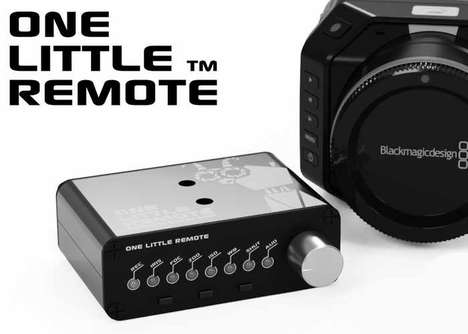 Camera-Controlling Remotes - The 'One Little Remote' Wireless Camera Remote is Handy
