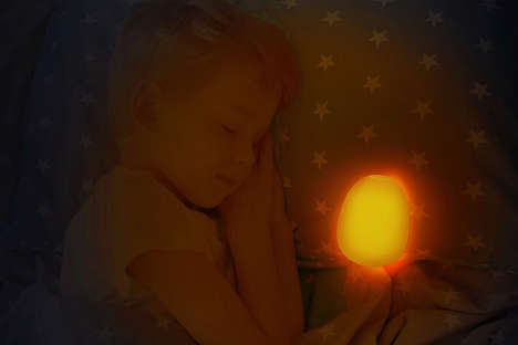 Ambient Child Nightlights - The 'Ambi' Night Light Can be Brought to Bed with a Child