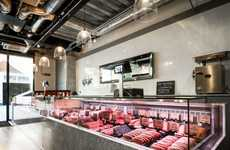 Contemporary Family Butcher Shops