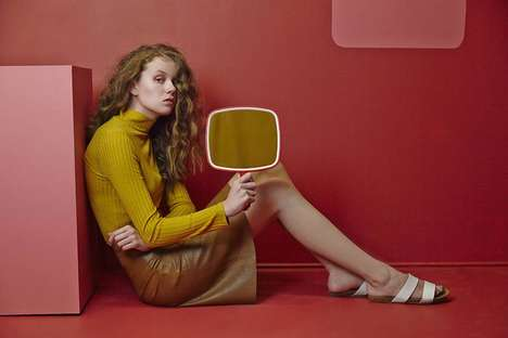 Vibrant Prop-Centered Portraits - Agata Wolanska's Retro Images Boldly Incorporate Objects