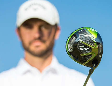Swing-Optimizing Golf Clubs - The Callaway Epic Driver Golf Club is Outfitted with Special Features
