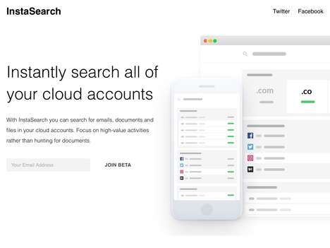 Cloud Storage Search Platforms - 'InstaSearch' Enables Users to Perform Cloud Searches from One Spot