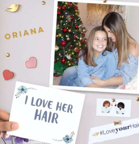 Latina Hair-Embracing Campaigns - Dove Partnered With Celebrities for its 'Love Your Hair' Campaign