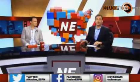 Latino-Focused Sports Shows - EPSN2's New Weekly Show is Interactive and Culturally Fluent