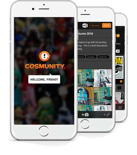 Geeky Fandom Marketplaces - The Cosmunity App is a Digital Hub for Geek Culture Post-Convention