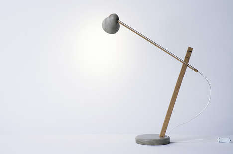 Flatpack Avian-Inspired Illuminators - The 'Say-Daw' Illuminating Lamp Stands Strongly Like a Heron