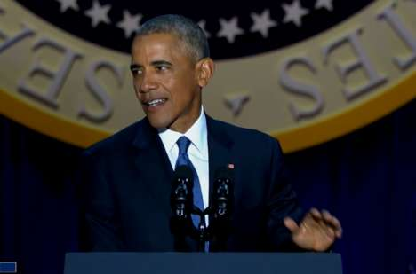 Presidential Farewell Speeches - Barack Obama's Farewell Speech Left America Cautious but Empowered