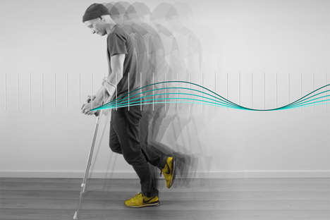 Smartphone-Connected Crutches - The 'e-crutch' Helps with Injury Recovery by Monitoring Progress