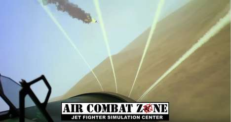 Family-Friendly Flight Simulators - Air Combat Zone Offers Fighter Pilot Simulations for Birthdays