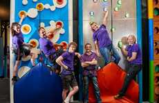 Family-Focused Climbing Gyms