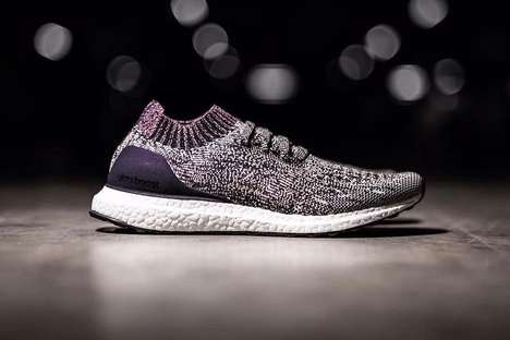 Lilac Lightweight Sneakers - These New adidas UltraBOOSTs Boast a Fresh Colorway of Varying Purples