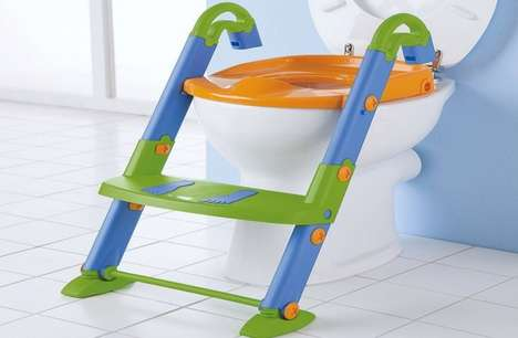 Child Toilet Training Attachments - The Potty Ladder Helps with Potty Training for Toddlers