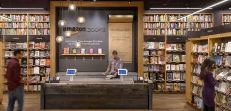 E-Commerce Retail Bookstores - Amazon is Opening Up a New Bookstore in Manhattan