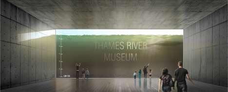 Tidal Observation Museums - Thames River Museum Would Offer Views of the Thames' Tidal Movement