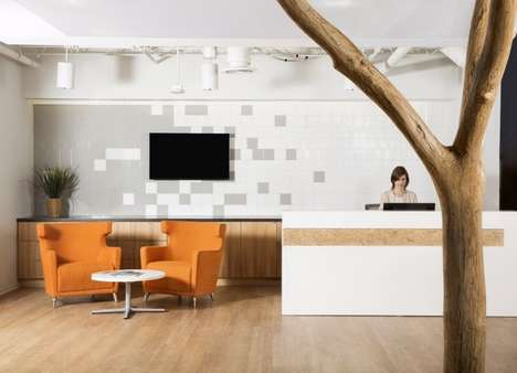 "Charitable Workshop Offices - The Non-Profit WiNGS' Office Has a ""Space Within a Space"" Design"