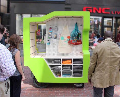 Modernized Street Vendor Kiosks