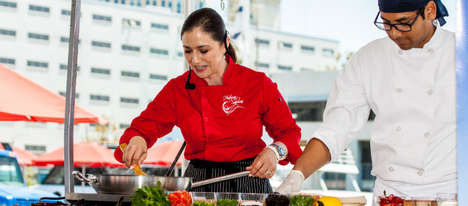 Educational Latin Food Festivals - The 'Latin Food Fest' Features Hands-On Cooking Demonstrations