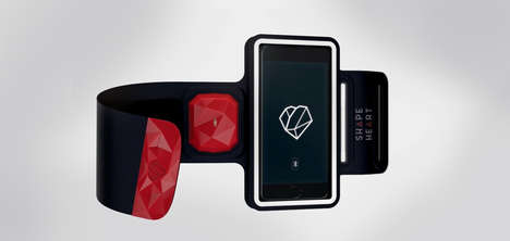 Heart-Tracking Arm Bands - The ShapeHeart Monitor Was Revealed at CES 2017