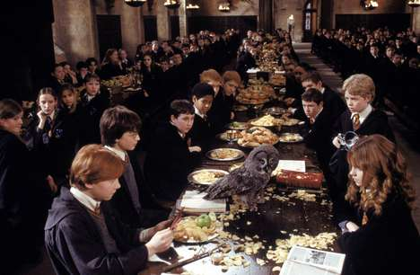 Wizard-Themed Italian Restaurants - 'Pasta Wiz' References Scenes and Decor from 'Harry Potter'
