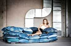 Recycled Denim Home Sofas