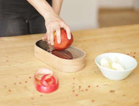 Fruit Conservation Kitchen Devices - The 'Other Half of the Apple' Harvests Fruit Skin
