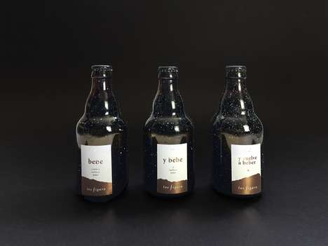 Agency-Designed Beer Kits - The Agency Los Figaro Offered End of Year Gifts for Clients