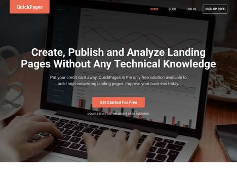 Cost-Free Website Tools - 'QuickPages' is a Free Landing Page Generator to Cut Business Costs