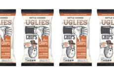 Rejected Potato Chip Snacks - The Dieffenbach Uglies Kettle Cooked Chips is Made from Ugly Produce