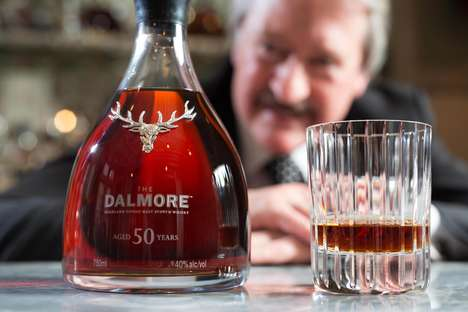 Celebratory Half-Century Whiskeys - The Dalmore 50 Single Malt Scotch Whiskey is a Lavish Libation