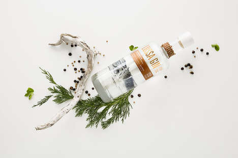 Locally Sourced Gin Brands - Lussa Gin is Made from Local Botanicals in the Island of Jura