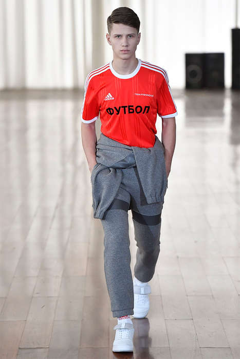 Soviet-Inspired Sportswear - Gosha Rubchinskiy and adidas Football Joined to Create a New Series