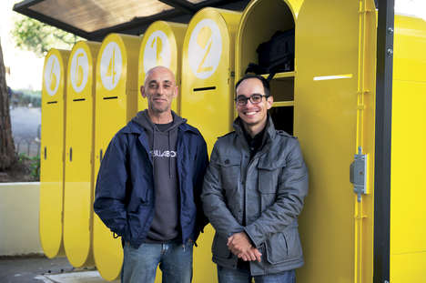 Homeless Locker Programs - Transitioning Homeless People Can Use This Storage Locker Initiative