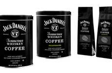 Whiskey-Branded Coffee - Jack Daniel's Tennessee Whiskey Coffee Blends Coffee with Whiskey's Taste