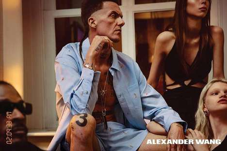 South African Fashion Campaigns - The Spring/Summer Alexander Wang Promotions Feature Die Antwoord