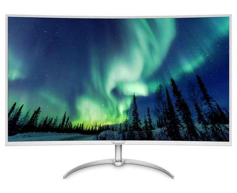 Ultra-Wide 4K Monitors - The 40-Inch Philips 4K Monitor Supports Up to Four Inputs at Once