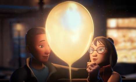 Family-Focused Movie Theater Animations - 'A Balloon For Ben' Inspires Moviegoers to Cherish Family