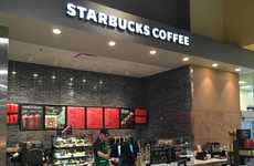 Grocery Store Coffee Kiosks - This Publix Supermarket Now Boasts a Starbucks Kiosk